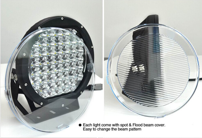 High intensity 225w driving light